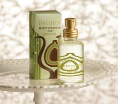 Pacifica Mediterranean Fig Perfume.  All natural, inexpensive, with a lovely, woodsy, not-too-girly scent. $22.00