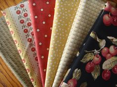 Farmers Market  Fabric Half Yard Fabric Bundle   by timelessquilts
