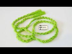 Crochet Bracelet, Knitting, Youtube, Pattern, Atelier, Crochet Baby Cardigan, Twine, Knitting And Crocheting, Tricot