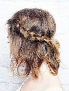 Lob Hair Braid