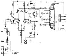 807 Tube Triode Connected schematic Valve Amplifiers