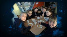 Pocklington Prep School enjoy a sleepover at The Deep in Hull