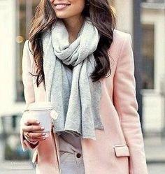 Color gris - un básico que no puede faltar. Hoy lo combinamos con rosa.. Qué te parecen estos looks?