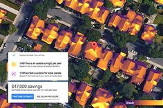 Are you considering going solar? Google's Project Sunroof might be able to help. Check out the pros and cons >> http://blog.diynetwork.com/maderemade/2015/08/21/going-solar-with-googles-project-sunroof/?soc=pinterest