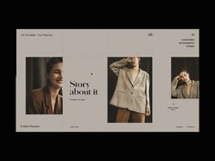 Website Header Design, Modern Web Design, Monday Inspiration, User Interface Design, Saint Charles, Show And Tell, Interactive Design, App Design, Animation