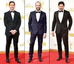 Emmys 2015 Red Carpet: Men in Tuxedos