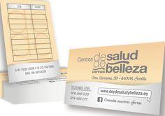 Diseño de nuevas tarjetas corporativas para el centro DEYDE