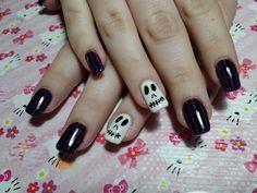 Gelish Halloween Stripes