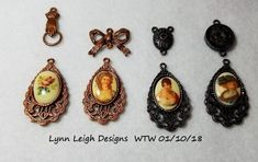 Lynn Leigh Designs - WTW 01/10/18 Cameos and B'Sue by 1928 components.