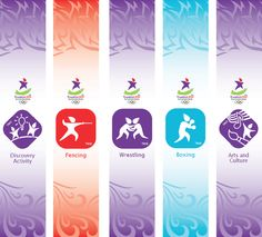 Singapore 2010 Youth Olympic Games Hanging Banner Graphics