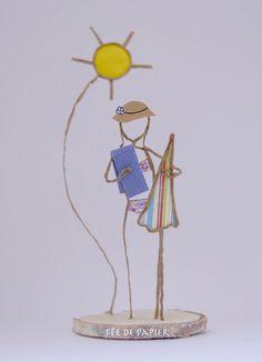 Fée de papier : Sous le soleil exactement - Technique by Epistyle