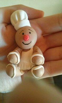 boneco biscoito imã biscuit