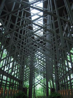 Thorncrown Chapel - Fay Jones
