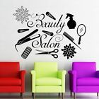 Us 485 27 Off Beauty Salon Decor Hair Salon Hairdresser Wall Decals Beauty Salon Interior Art Decoration Vinyl Make Up Wall Stickers In Wall Vinyl Decor, Home Decor Wall Art, Wall Stickers Quotes, Vinyl Wall Stickers, Wall Decals, Beauty Salon Decor, Beauty Salon Interior, Girls Bedroom, Artist Wall