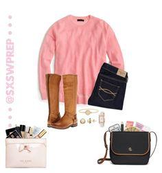 """""""Inspired by Spencer Hastings"""" by sxswprep ❤ liked on Polyvore featuring Viktor & Rolf, LifeProof, Too Faced Cosmetics, Marc by Marc Jacobs, Crabtree & Evelyn, Honora, Bobbi Brown Cosmetics, J.Crew, Abercrombie & Fitch and Frye"""