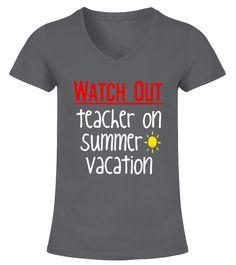 Teacher On Summer Vacation