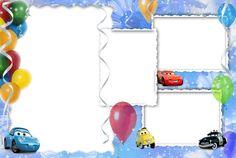 Invitaciones o Marcos para Fotos de Cars para Imprimir Gratis. | Ideas y material gratis para fiestas y celebraciones Oh My Fiesta!