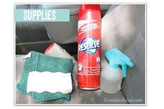 DIY Car Detailing supplies - Every 6 months. September/March - BD