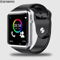 18a6dd2b6 Free Shipping A1 WristWatch Bluetooth Smart Watch Sport Pedometer with SIM Camera  Smartwatch For Android Smartphone