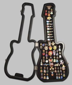 I really want this Hard Rock Cafe pin display case. I've got 11 Hard Rock badges from around the world so far and would love to collect more and have this to put them in Necklace Display, Necklace Holder, Earring Display, Coin Display, Display Case, Brooch Display, Wall Mount Jewelry Organizer, Jewelry Organization, Disney Trading Pins