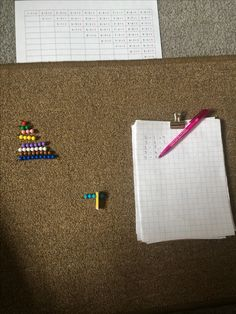 Subtraction with Short Bead Stair