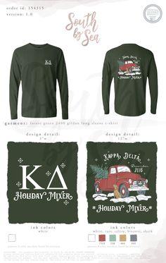 Kappa Delta   KD   My Mom Has A Pizza My Heart   Pizza Theme Shirt ...