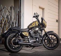 81 vind-ik-leuks, 1 reacties - Clubstyle Europe (@clubstyle_europe) op Instagram: '@harley_sportster_italy ・・・ 📸 @speedkings_cycle 🏍 Sportster 883xls #harley_sportster_italy #harley…'
