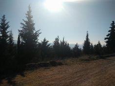 Hiking in thessaloniki.