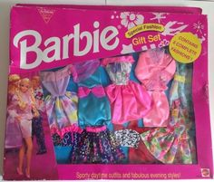 Barbie 1995 Special Fashion Gift Set. 8 Sporty Daytime/Evening Fashions Rare! | 25+4 listed