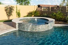 Come view California Pools & Landscape's stunning gallery of completed backyard swimming pools and landscapes to get ideas for your dream backyard. Swimming Pool Landscaping, Swimming Pool Designs, Backyard Pool Designs, Backyard Pergola, Pergola Kits, Pergola Ideas, Waterline Pool Tile, California Pools, Beach Entry Pool