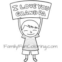 kids can show they love you and other family members by coloring i love you coloring children activitiesfathers dayholiday fungrandparentsi
