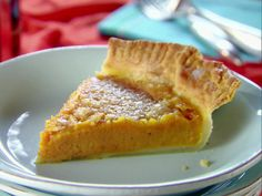 Sweet Potato Pie from FoodNetwork.com