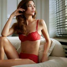 Marie Jo Joanne Scarlet from the archives   #lingerie #redbra