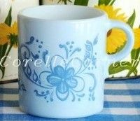 Brittany Blue mug, all-over pattern... Found this beauty for 79 cents at Salvation Army :)