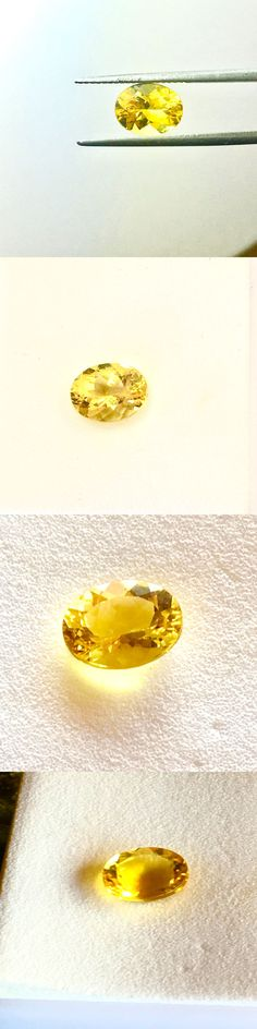 Beryl 110789: Golden Beryl Loose Gemstone 1.70 Carat Facet Oval 9 X 7 Excellent Cut Clarity -> BUY IT NOW ONLY: $50 on eBay!