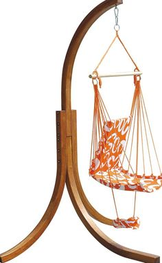 Delicieux Hammock Chair Stand Wood