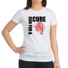 Aplastic Anemia Run For A Cure shirts by gifts4awareness.com #aplasticanemia #aplasticanemiaawareness #aplasticanemiashirts