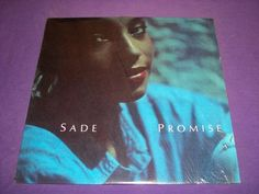 """Sade - Promise - Rare 12"""" Vinyl 33 RPM LP Record Epic 40263 - The Sweetest Taboo"""