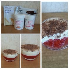 Try making this healthy trifle using Cambridge weight plan products! Try making this healthy trifle using Cambridge weight plan products! My Recipes, Low Carb Recipes, Diet Recipes, Cooking Recipes, 200 Calorie Meals, Calorie Diet, Cambridge Diet Plan, Claudia S, Recipe Steps
