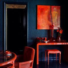 Color perfection. Found image. #sundayinspiration #colorinspiration #interiorstyle