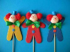 Farsangi bohócok készítése |