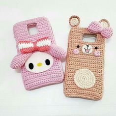 Crochet Samsung for samsung note 4 Crochet Wallet, Crochet Case, Crochet Purses, Love Crochet, Diy Crochet, Crochet Dolls, Craft Patterns, Crochet Patterns, Crochet Phone Cover