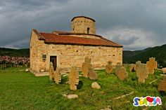 The Church of the Holy Apostles Peter and Paul, also known as Petrova Crkva (Peter's Church) is among the oldest mediaeval religious properties in Serbia. It is located on the site of an early Christian structure raised in the 6th century, close to Novi Pazar.