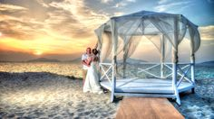Holiday village in Marmari Kos beach wedding booked EnvisionImages because they wanted more than the resident hotel photographers standard could provide