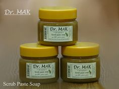 All Natural Scrub Paste. Handmade from olive oil soap and Dead Sea sand. Fragrance: Lemon essential oil. Best scrub for face and body. It renews dead cells and soothes skin while the olive oil soap cleans and nourishes your skin.