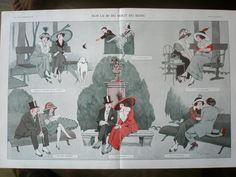1912 centerfold La Vie Parisienne / eBay