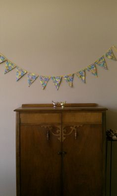 Fabric Bunting. with Darling Easter Eggs. Garland by InYourBones
