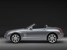 2005 Chrysler Crossfire Roadster - Side - Silver - Studio - 1920x1440 Wallpaper