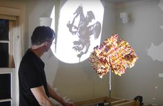Sorcery: LEGO Sculptures That Cast 3 Different Shadows When Viewed From…