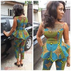 Beautiful and Classical Ankara Styles Just For YouLatest Ankara Styles and Aso Ebi Styles 2020 African Fashion Designers, African Print Fashion, African Fashion Dresses, Fashion Prints, African Outfits, African Clothes, Ankara Fashion, Africa Fashion, African Prints